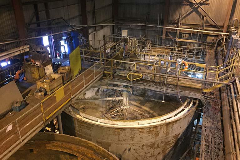 Nyrstar Myra Falls Mine - The Gisborne Group